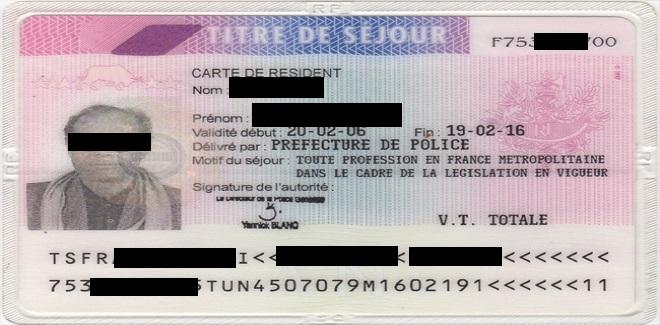 Lettre De Motivation Premiere Demande De Carte De Resident Longue Duree